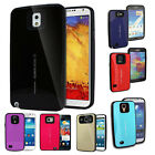 Dual Layered Shockproof Armor Urethane Bumper Case Cover For Samsung Galaxy Lot