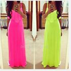Sexy Women's Sleeveless Backless Bodycon Casual Beach Party Long Maxi Dress