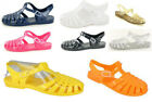 Retro Multi-Colour Ladies Girls Summer Beach Flip Flop Flat Sandal Jelly Shoes