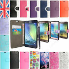 Printed Leather Wallet Flip Case Cover For Samsung Galaxy A3 A5 A7 E5 E7 +Stylus