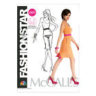 McCall's 6699 OOP Easy Sewing Pattern to MAKE Misses Shift Dress in Cup Size A-D