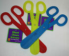 Jumbo Scissors plastic toy circus clown costume grand opening beauty shop prop