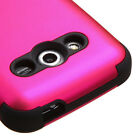 For SAMSUNG Galaxy Avant 386T Titanium PINK TUFF SOFT/HARD ACCESSORY COVER CASE