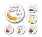*L.A. COLORS 32pc Nail Polish REMOVER PADS Acetone Free SCENTED *YOU CHOOSE*