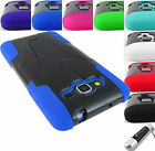 samsung h5 - FOR SAMSUNG GALAXY GRAND GO PRIME RUGGED T-STAND HYBRID CASE COVER+STYLUS