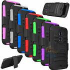 Armor Belt Clip Holster Protective Stand Case Cover For Motorola Moto X 2nd Gen