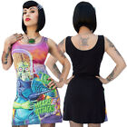 Women's Kreepsville 666 Mars Attacks Congress Crushed Tank Dress