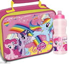 My Little Pony Lunch Bag and/or Plastic Sports Bottle Set School New Gift