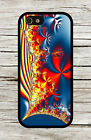 Fractal fire and flames CASE FOR iPHONE 4 , 5 , 5c , 6 -g45b7