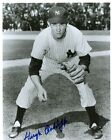 HUGH  RADCLIFFE    NEW  YORK YANKEES SIGNED   AUTOGRAPHED 8X10  PHOTO B/W