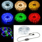 LED Rope Light PRE-ASSEMBLED 110V Lighting Christmas 10' 20' 50' 100' 150' xmas