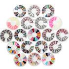 Nail Art 20 Style Acrylic Rhinestones Glitters Tips Decoration Pearl Gems Wheel