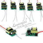 4-7X1W Constant Current LED Light Driver Power Supply 300mA AC85-265V For LEDs