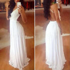 Sexy Lace Maxi Backless Sleeveless Summer Party Prom Clubwear Cocktail Dress