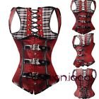 Size S-2XL May New Steampunk Lace up Waist training Underbust Top Corset Sexy fi