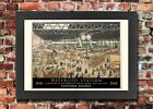TX276 Vintage Waterloo Station Southern Railway Framed Travel Poster A3/A4