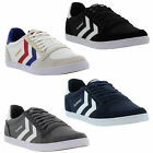 New Hummel Slimmer Stadil Low Mens Classic Canvas Trainers Shoes Size UK 7-14