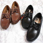 New Mooda Premium Mens Casual Dress Lace Up Leather Comfort Boat Shoes