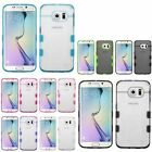 For Samsung Galaxy S6 Edge Transparent TPU Rubber Gel Skin Gummy Cover Case