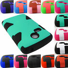 FOR LG SUNRISE L15G LUCKY L16C HYBRID DUAL LAYER CASE COVER ACCESSORY+STYLUS/PEN