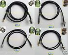 1 x RG58 SMA MALE or FEMALE to BNC MALE or Female Bulkhead RF Pigtail Cables USA