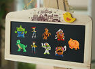 4pcs Toy Story Creative Style PVC Fridge Magnets,School office Supplies Gifts