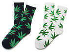 WEED MARIJUANA PLANTLIFE WOMEN MAN BMX SKATE SKATEBOARD SOCKS