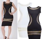 Fashion Women Sleevelss Bodycon Cocktail Party Evening Pencil Sheath Formal Dres