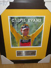Cadel Evans hand signed Tour De France Print - Framed with Plaque, COA & proof