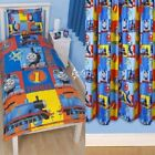 Thomas The Tank Engine Power Single Duvet and Matching Curtains Bedding Set