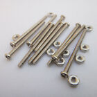 10pcs M2 Bolts Nuts Long Screws For motor Robot Gear DIY Toy Lots Type