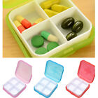 4 Compartment Tablet Medicine Pill Boxes Case Organizer Container Storage Holder