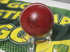 Mitch Starc (Australia) signed Red Cricket Ball + COA + Photo proof signing