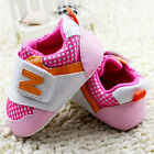 Baby Boy Girls Pink tennis shoes Sports Soft soles Crib Shoes Size 0-18 Months