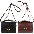 New Women Handbag Faux Leather Cross Body Shoulder Tote Messenger Bag Satchel