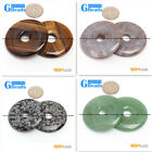 40mm Ring Gemstone Lucky Buckle DIY Earrings Pendant Making Loose Beads