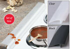 Collections Etc Silicone Stove And Countertop Gap Strips - Set Of 2