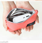 Iconic Mobile Charger Pouch Battery Cable Travel Poly Bag Holder Galaxy iPhone