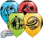 "Marvel Avengers Assemble 11"" Helium Quality Bright Colour Party Balloons"