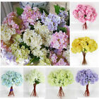 Fashion Fake Flowers Fashion Hydrangea Artificial Bouquet Home Wedding Bridal