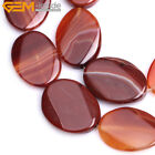 """Oval Twist Natural Banded  Striped Agate Beads For Jewelry Making 15"""" Wholesale"""