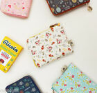 Blossom Garden Pocket Wallet Case Storage Money Coin Holder Cute Zipper Purse