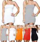 Sexy Womens Bandeau Top Fashion Bodycon Cocktail Summer Evening Slim Mini Dress