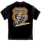 Hell On Wheels Hot Rod Motorcycle T-Shirt