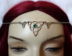 CELTIC Triquetra Trinity Medieval RENAISSANCE Circlet Crown Silver Headpiece NEW