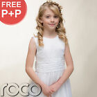 Suit Bolero Traditional White Girl Embroidered Holy Communion