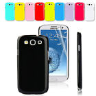 New Stylish Hard Back Case Cover For Samsung Galaxy S3 I9300 Free Screen Guard