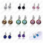 New Arrival Romantic 925 Sterling Silver Cubic Zircon Earrings Women Wedding