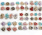 1pcs Fashion Rhinestone Jewelry Flower Crystal Brooch Pin