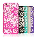 Vintage Lace Pattern Flower Plastic Hard Case Cover For Apple iPhone 5S 6 6Plus